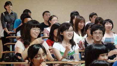 北京外国语大学上课实拍