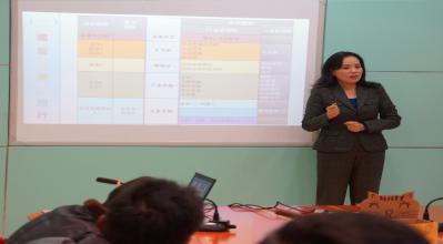 北京外国语大学导师授课图